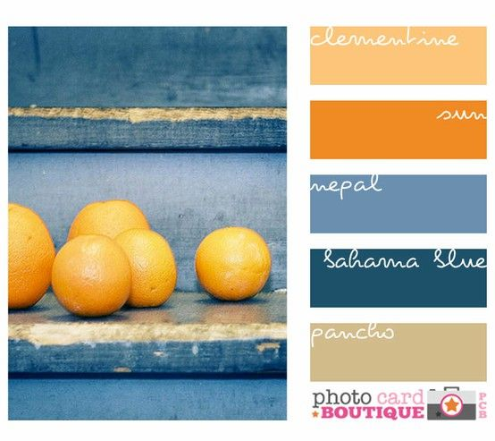 Color 101 How to Use the Color Wheel Farben und Farbpaletten - wohnzimmer orange blau