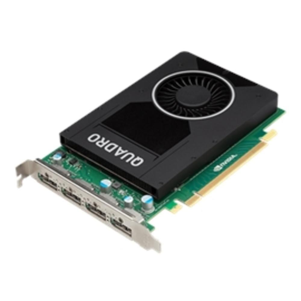 PNY Video Card VCQM2000-PB Quadro M2000 4GB DDR5 PCI Express 3.0x16 DisplayPorts 1.2(4)768 CUDA Retail