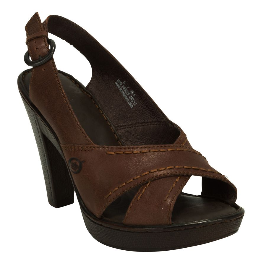 Born Coralie Cross Vamp Slingback