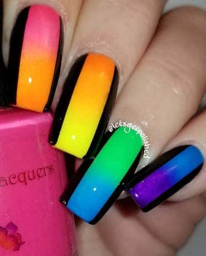 25 neon nail art ideas to kill it with this spring with