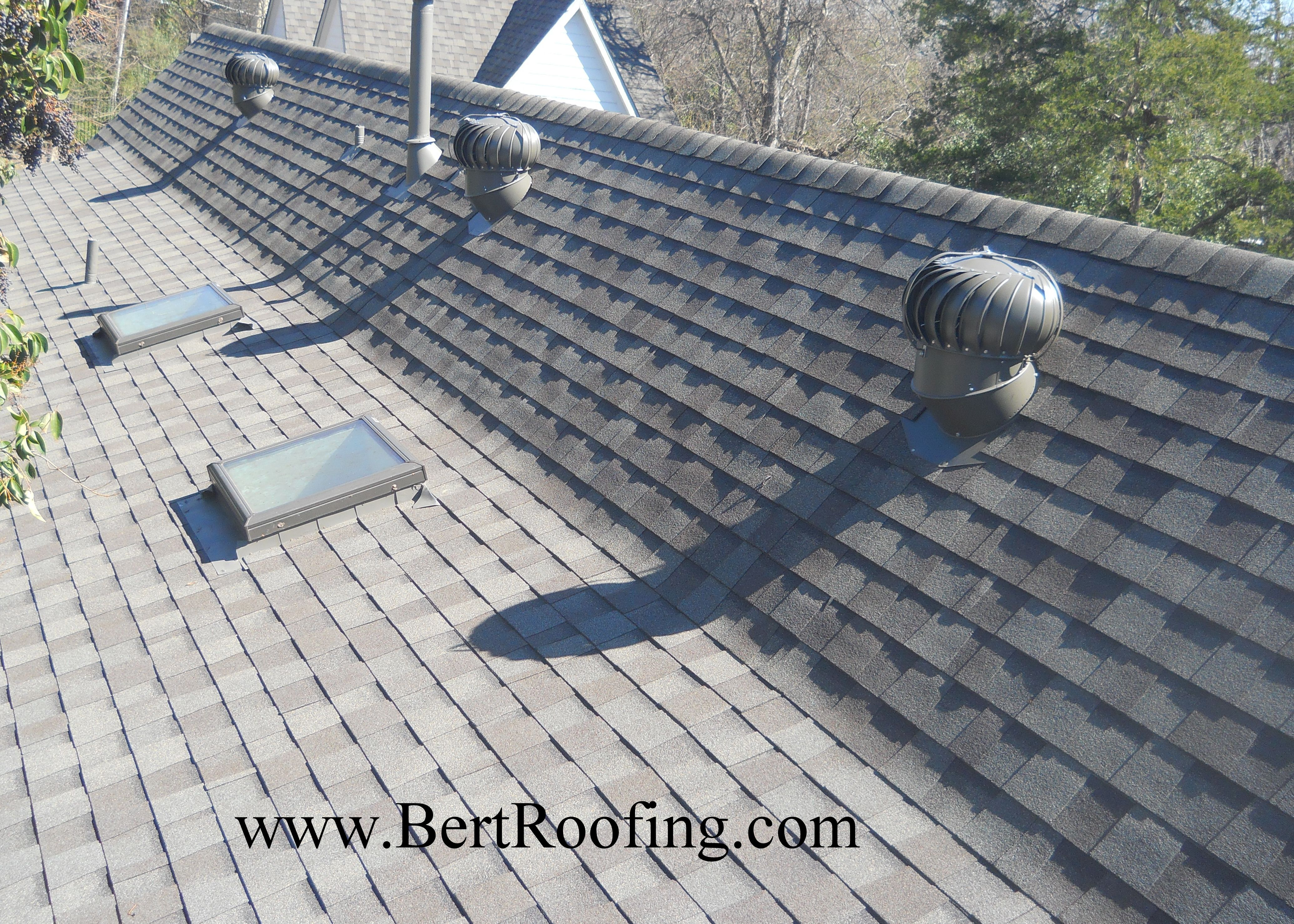 Dallas Roofing Company Bert Roofing Dallas Roofing Contractor Roof Repair Roofing Weathered Wood Certainteed