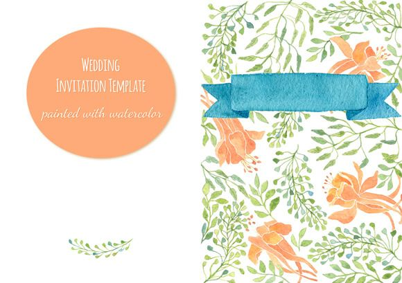 Check out invitationgreeting card template by helga wigandt on invitationgreeting card template templates this elegant invitation template will be perfect for a wedding in floral style actually it will be by helga stopboris Image collections