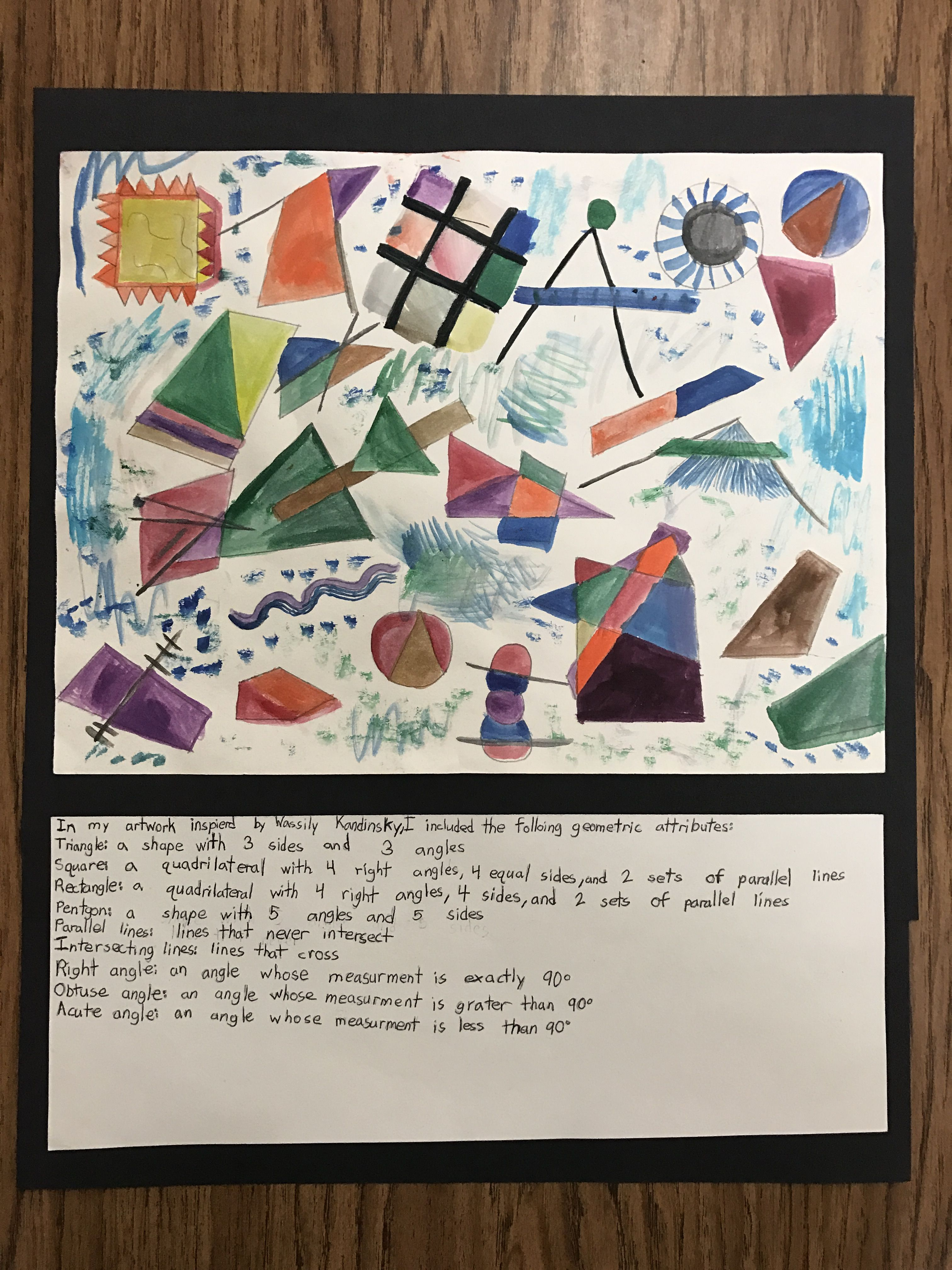 Cross Curricular Project Math And Art Integrated Wassily