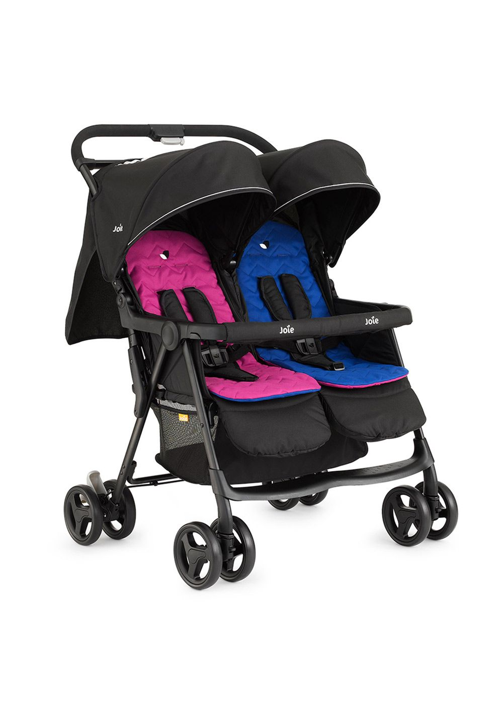 Tweeling Kinderwagen Abc Zoom Joie Aire Twin Double Stroller Pink Blue Twin Strollers