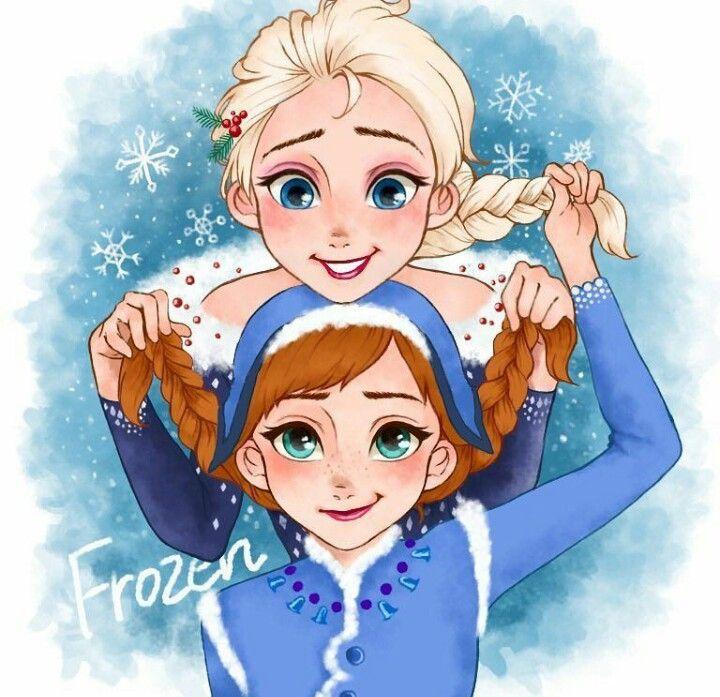 Anna And Elsa From Olaf S Frozen Adventure Disney Princess Frozen Walt Disney Animation Studios Disney Animation