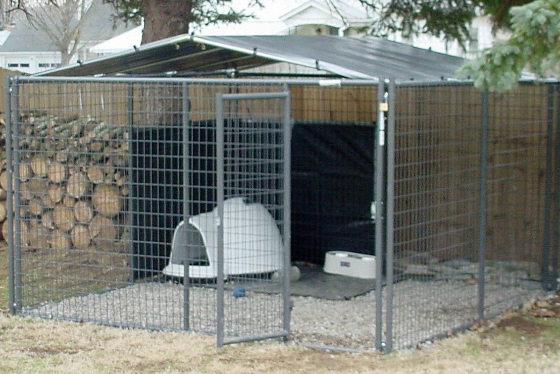 Diy 10 X 10 Kennel Cover 6 Truss For Chain Link Type Kennel Dog Kennel Outdoor Diy Dog Kennel Dog Kennel Cover