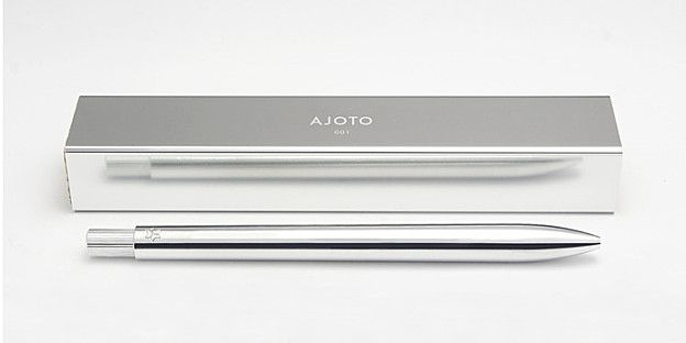 A MINIMAL AESTHETIC PEN by AJOTO / CHRIS HOLDEN AND TIM HIGGINS / LONDON /