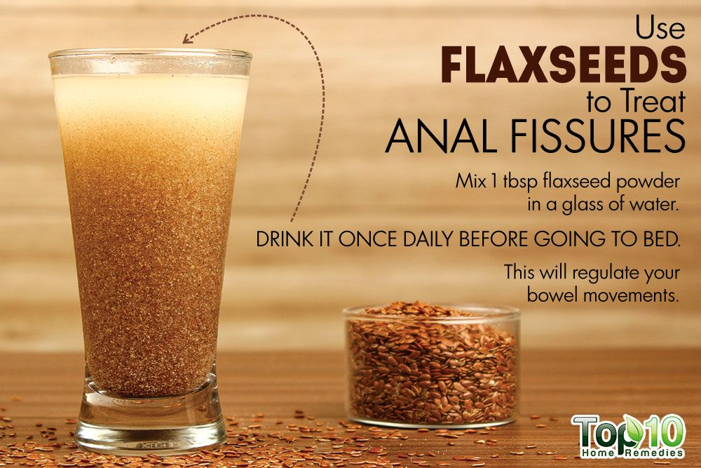 Anal fissure alcohol