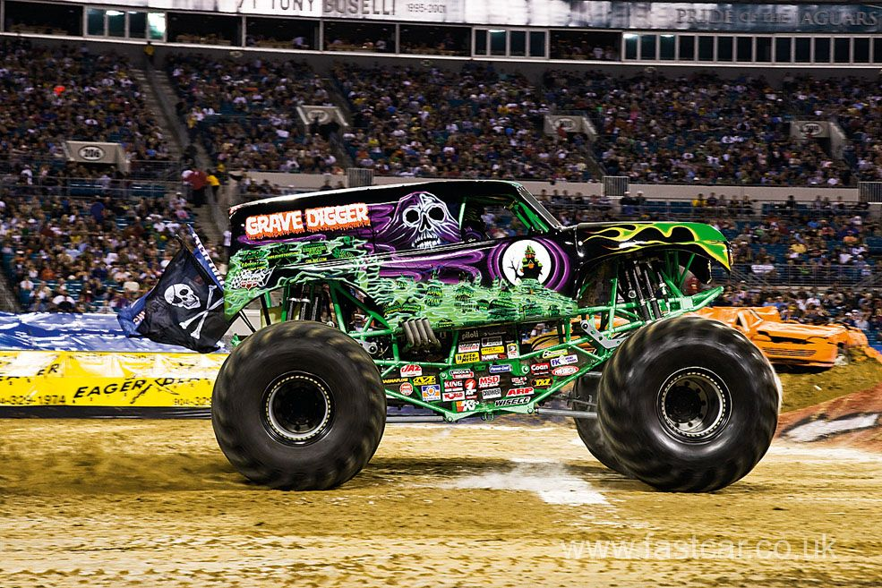 Monster Trucks In The World Of Monster Trucks There Are None