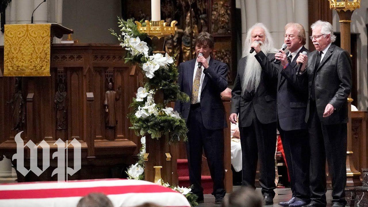 Oak Ridge Boys perform at H.W. Bush funeral