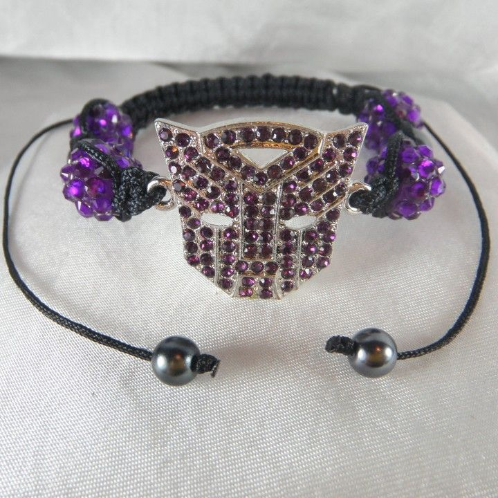 Transformer Inspired Style Charm Purple from Anns Bands for $9.99