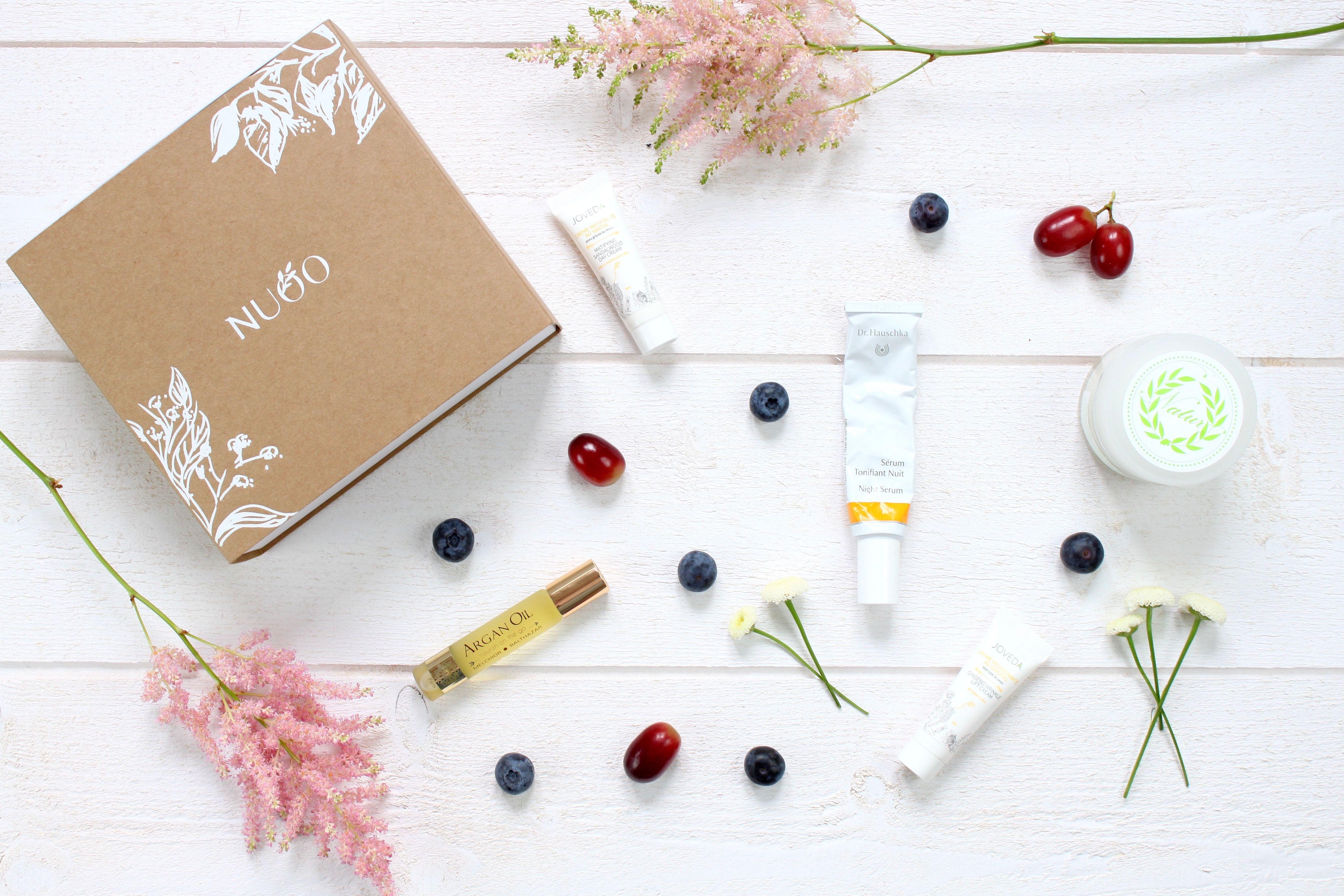 Box de mai sur www.nuoobox.com #beautybox #vegan #bio #box #organic #natural #nontoxic #beauty #naturalbeauty #organicbeauty #healthy #green #greenchic #fun #colors #detox #beautebio #beautybox