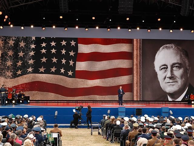 'Thy Will Be Done, Almighty God': Trump Prays FDR's D-Day Prayer at Ceremony in England images