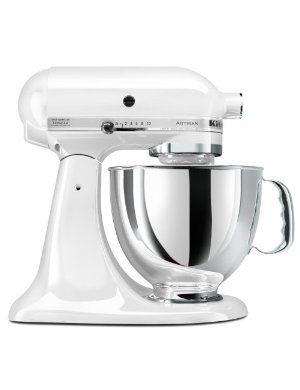White Kitchenaid 4.5 Quart Mixer