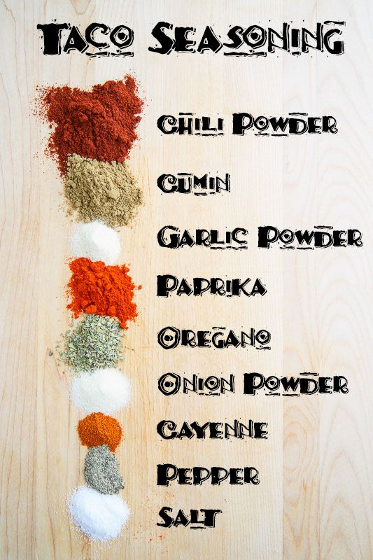 Taco Seasoning Recipe #maketacoseasoning