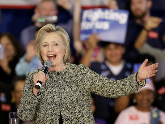 Days from Indiana's primary election, Hillary Clinton finds herself in a familiar spot — vying for votes in a tight Democratic contest reminiscent of 2008 when she narrowly defeated her then-primary challenger Barack Obama in Indiana.