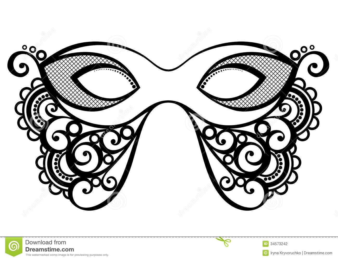 Masquerade Mask Stock Photography