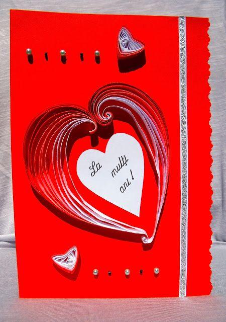 Felicitare quilling pop up i love u birthday card i love you felicitare quilling pop up i love u birthday card i love you m4hsunfo
