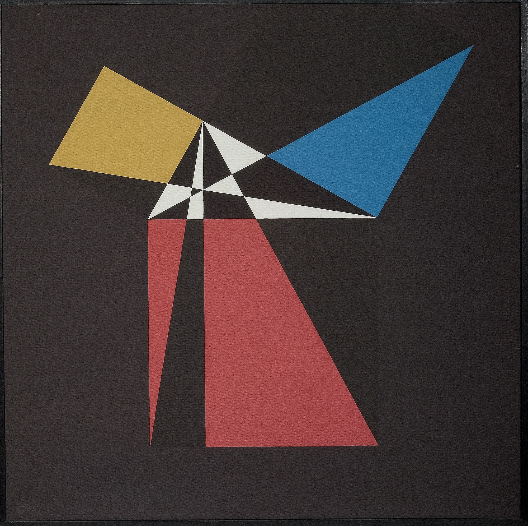"""""""a2 + b2 = a colorful painting of a windmill"""". Painted in"""