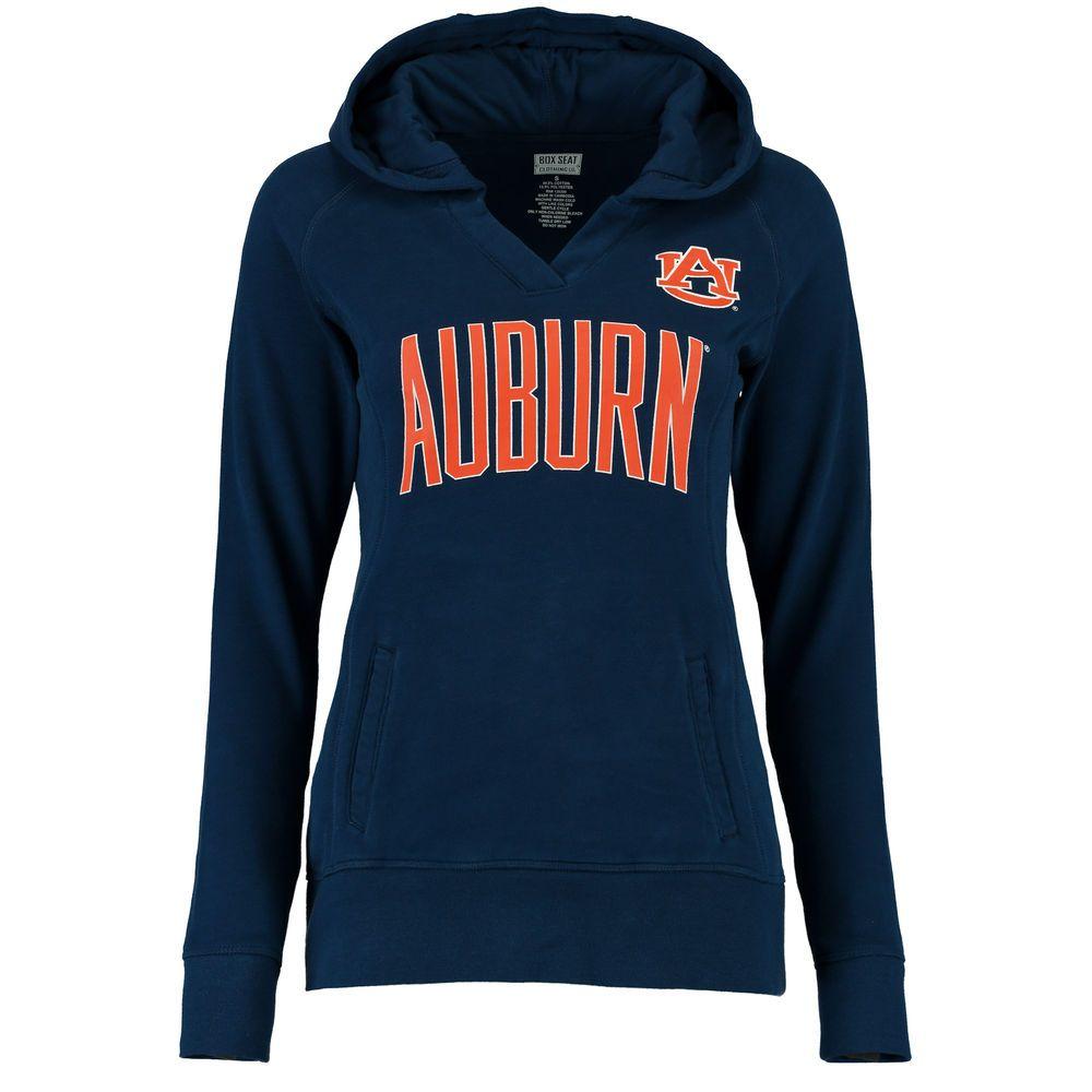 Auburn Tigers Women's Portola V-Neck Hoodie - Navy