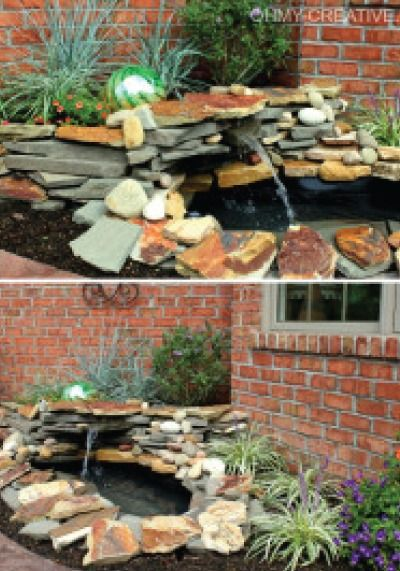How To Build A Pond Waterfall Step By Step | Backyard ...