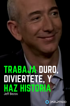Frases chingonas de Jeff Bezos  #amazon  #jeffbezos  #quotes