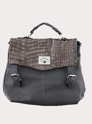 Noho Structure Handbag In Grey Cute Affordable Handbags Purses Satchels And