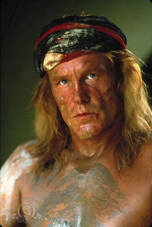 "Nick Nolte in ""Farewell to the King,"" 1989"