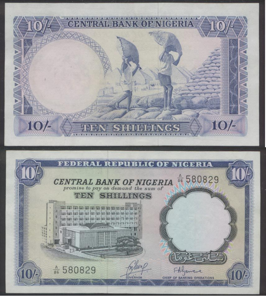 All About Nigeria In Picture The Nigerian Currency Paper