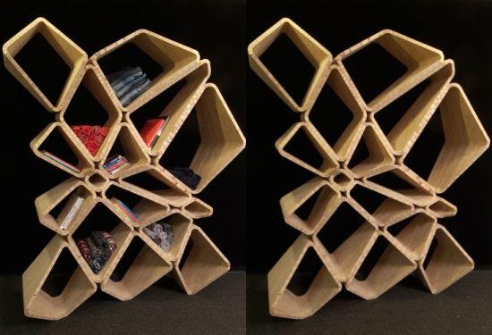 Innovative and customizable Softshelf shelving system | HomeBent