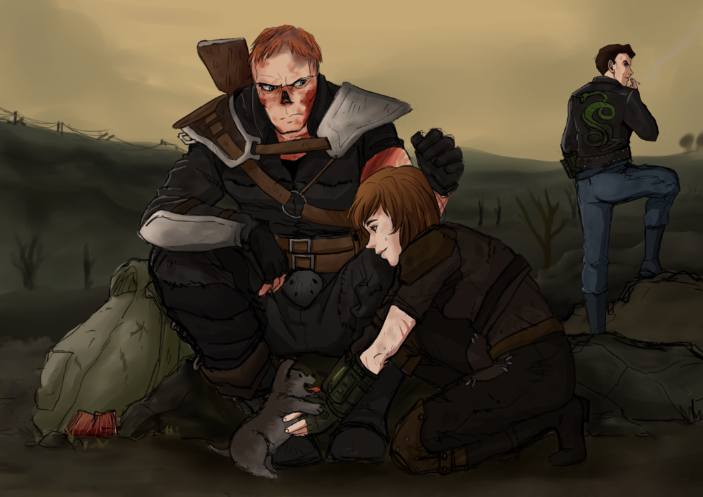 Odd Wasteland Family By Apple Cake On Deviantart Fallout