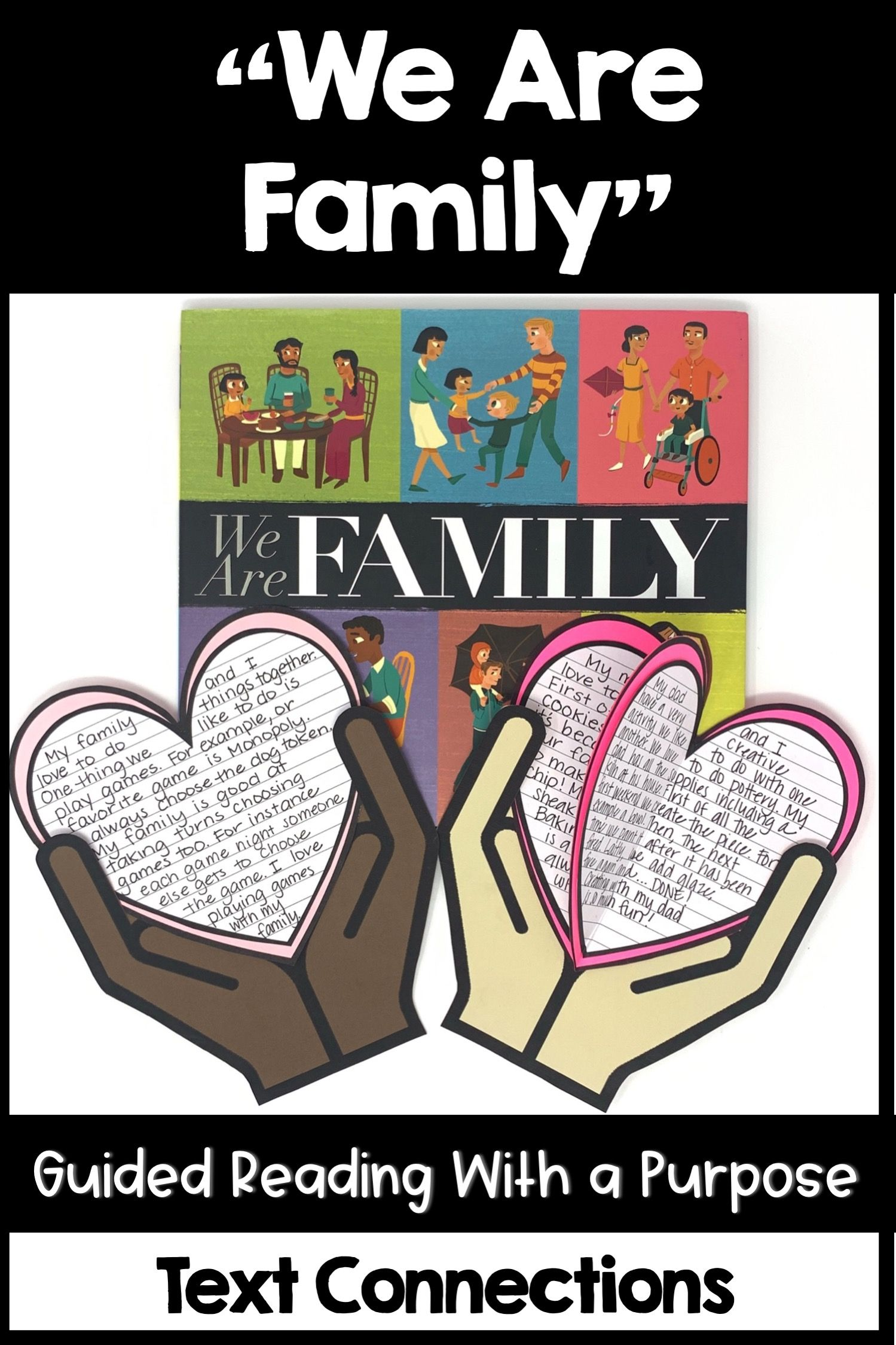 We Are Family Guided Reading Text Connections