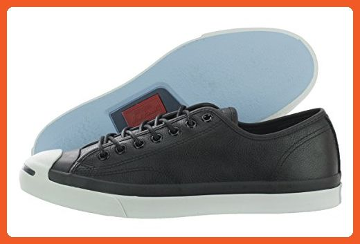 7901ee24d44375 Converse Men s Jack Purcell Ox Black Leather 3.5 M - Sneakers for women  ( Amazon Partner-Link)