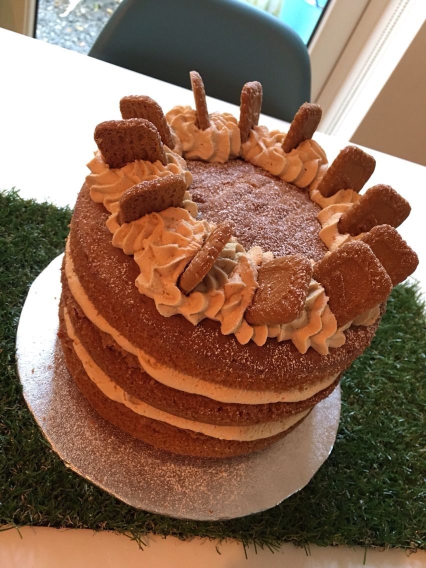 Biscoff Cake Recipe Zoella
