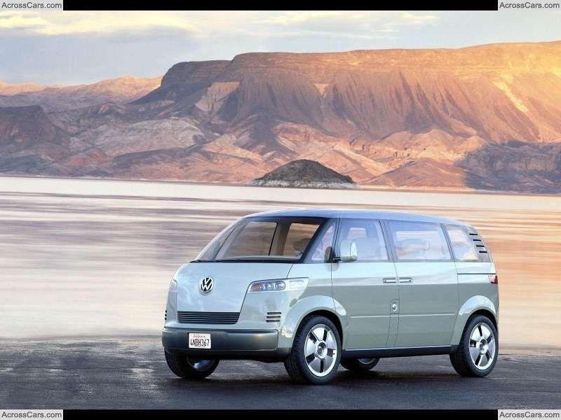 Volkswagen Microbus Concept (2001) Volkswagen, Car