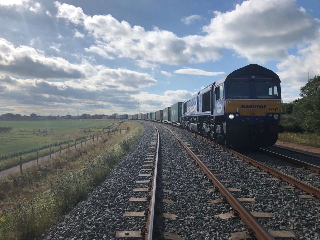 GB Railfreight announce new Southampton to East Midlands