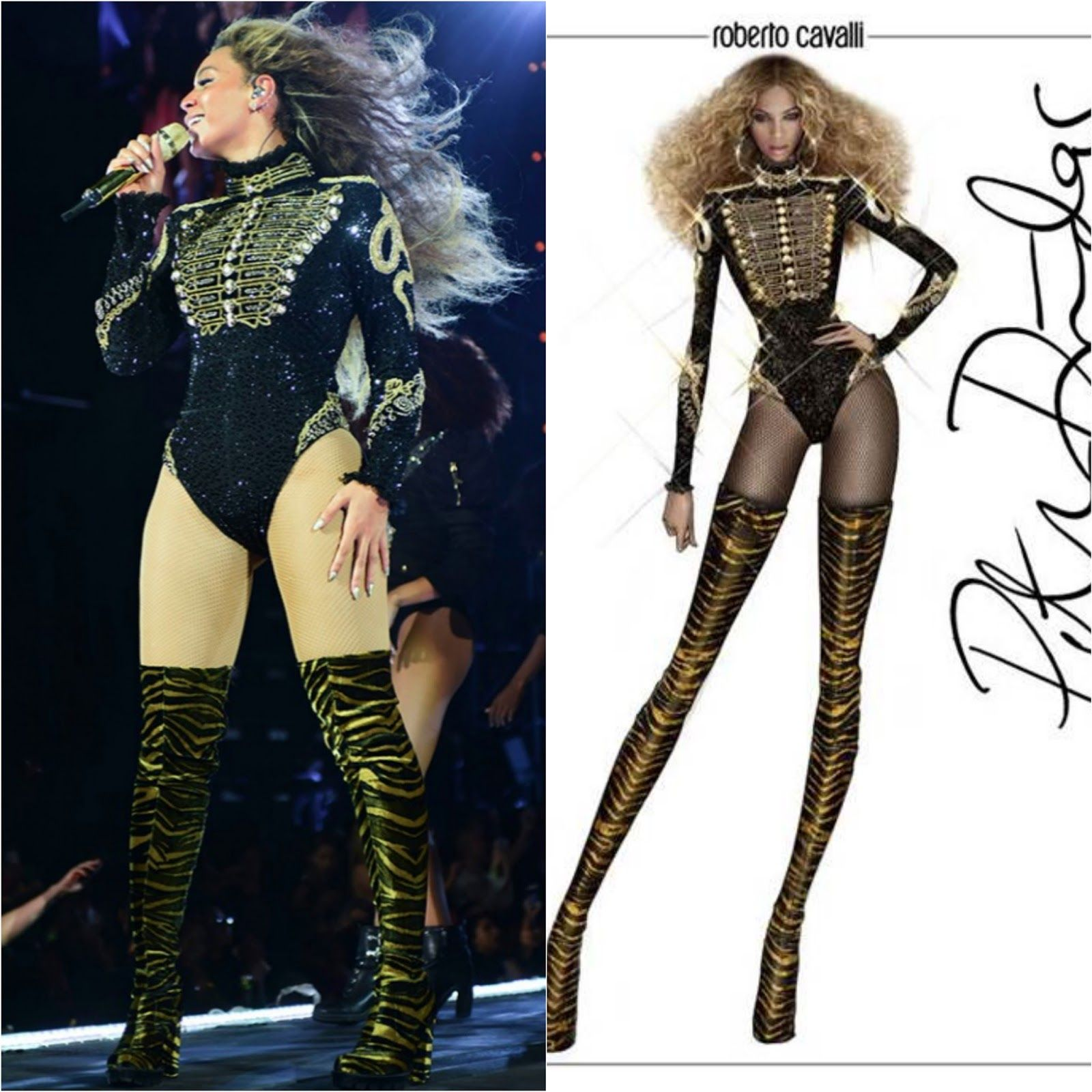 Google themes beyonce - Beyonce Formation World Tour Costumes