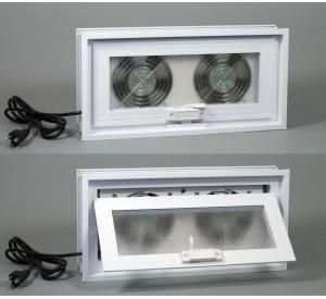 Crawl Space Window Exhaust Fans Bathroom Ventilation Basement