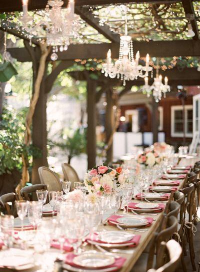 Colorful North Carolina Beach Wedding Wedding Table Wedding