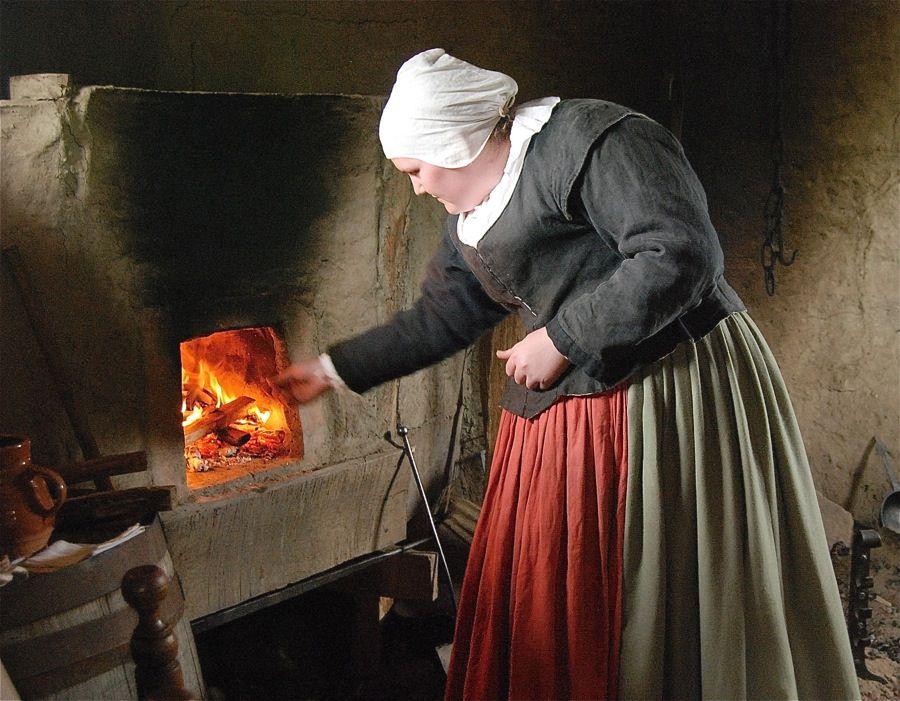 Blog King Arthur Baking Plimoth, Living history, May