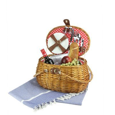 Northlight Picnic Basket Set