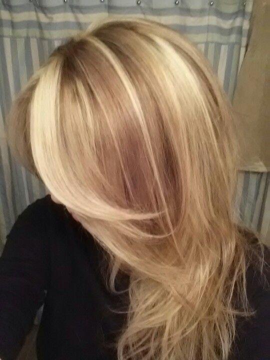 Woo Hoo Proud Of My Color Used Wella Blondor 30 Vol On Level 6