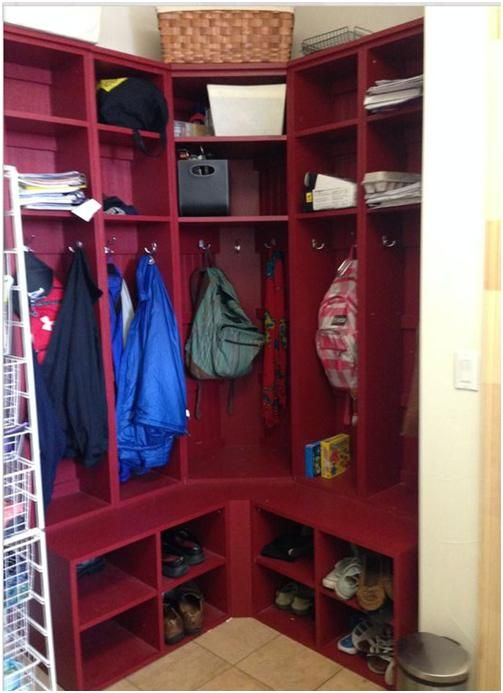 We Are Thrilled With Our Corner Locker Unit! Realizing Now, Though, That We