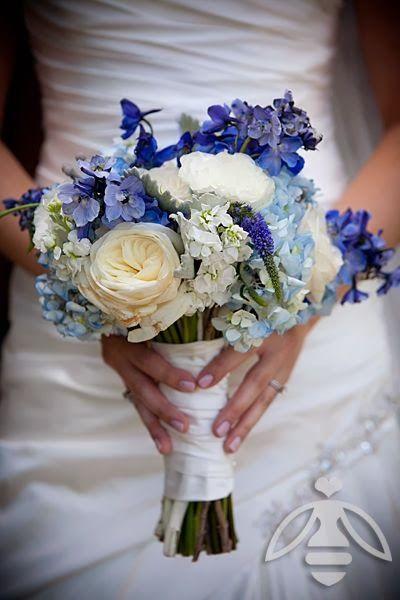Bluesi Jpg 400 600 Bridal Bouquet Blue Blue Flowers Bouquet Bridal Bouquet