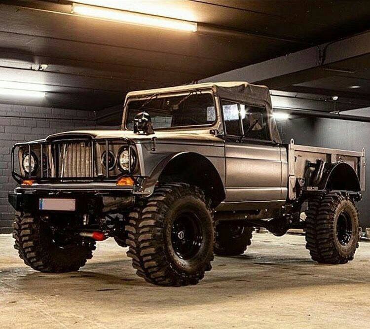 Resto mod truck | Off Road All Terrain | Jeep, Jeep truck
