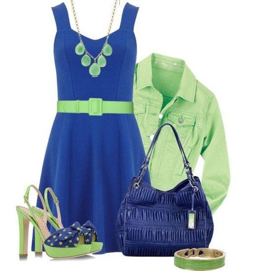 Azul rey con verde limon perfecta combinacion para el for Combinaciones con azul