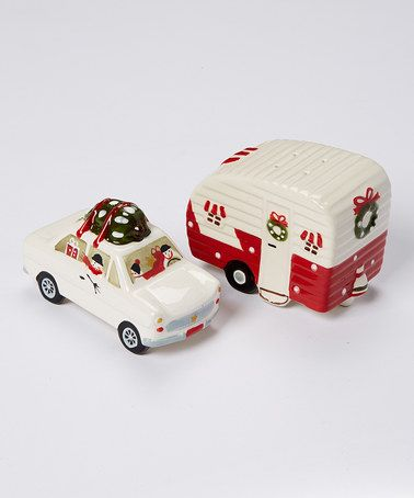 This Christmas Vacation Salt & Pepper Shaker Set is perfect! #zulilyfinds