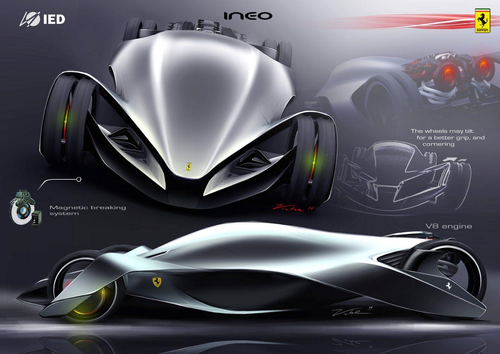 Design my car - Car Design And My Life Ferrari