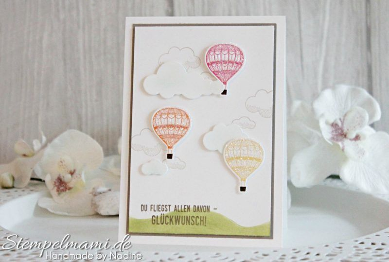 Stampin Up Grusskarte Geburtstagskarte Birthday Card Karte