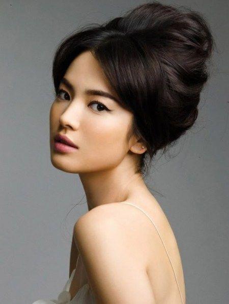 Korean hair bun